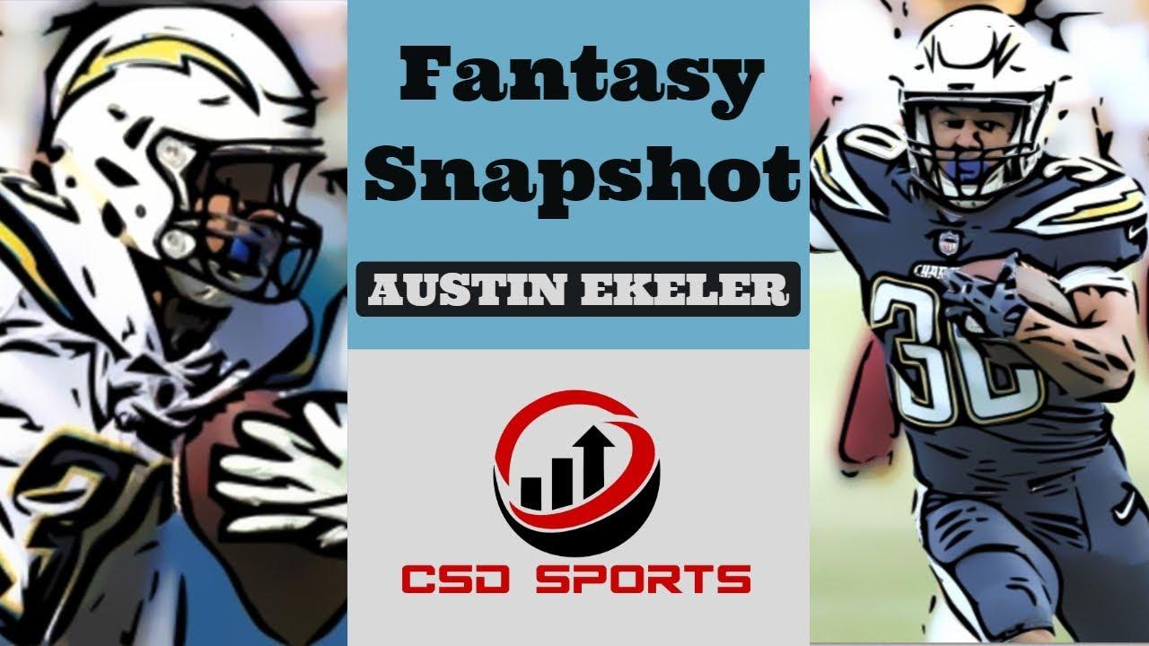 Fantasy Football 2018 - Week 2 Fantasy Snapshot Austin Ekeler - YouTube