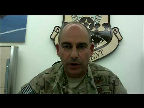 Inherent Resolve Commander Briefs Reporters