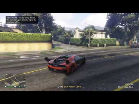 GTA V - Import/Export Sam Austin Drive Stealth Mission