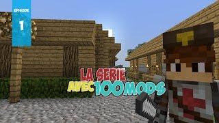 LA SÉRIE AVEC 100 MODS : Minecraft Comes Alive ! | Ep.1 - Minecraft Moddé