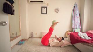 下腹のぽっこり解消😆🌺🙌♡Everyday exercise#5(中級)