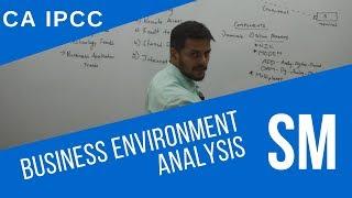Business Environment Analysis | SM - CA IPCC Mp3
