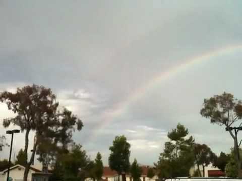 Double rainbow in Thousand Oaks