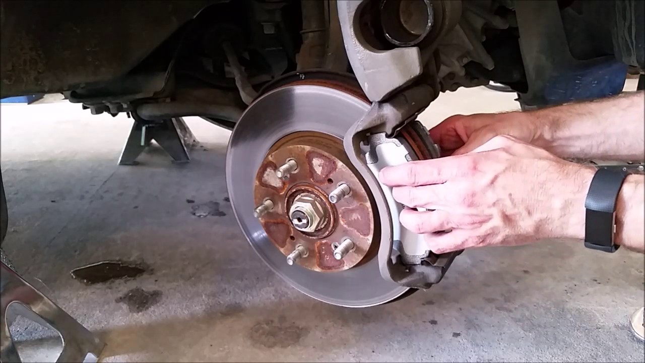Exceptional Front Brake Pad Replacement Honda CRV