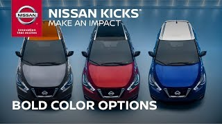 Customize With 2018 Nissan KICKS Color Studio
