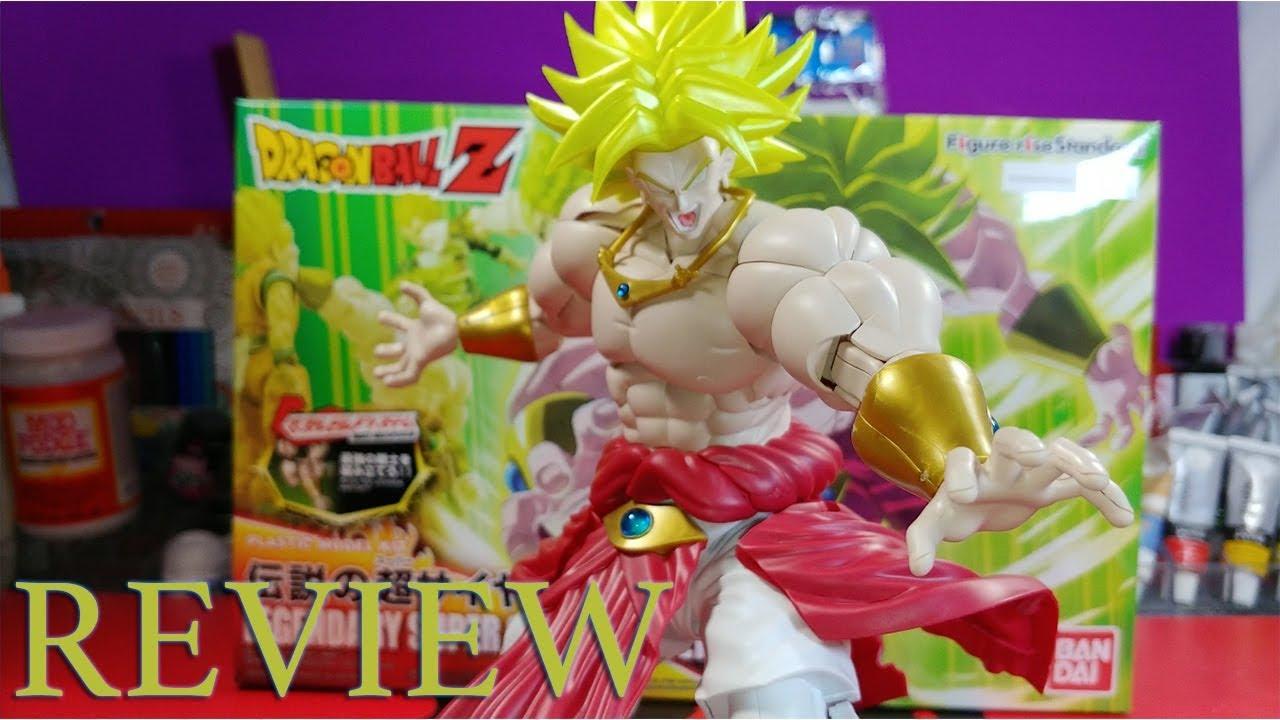 Bandai DBZ Legendary Super Saiyan Broly Dragon Ball Z Figure-Rise Standard Model
