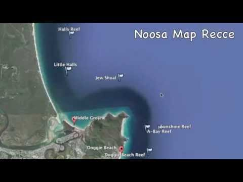 Noosa, overview for offshore kayak fishers.