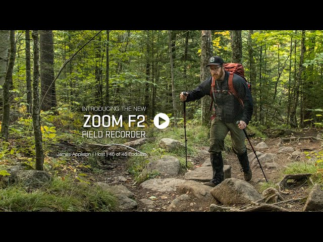 Zoom F2 Field Recorder Product Video