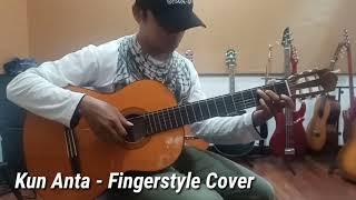 Video Kun Anta - Simple Fingerstyle Guitar Cover acoustic download MP3, 3GP, MP4, WEBM, AVI, FLV Agustus 2018
