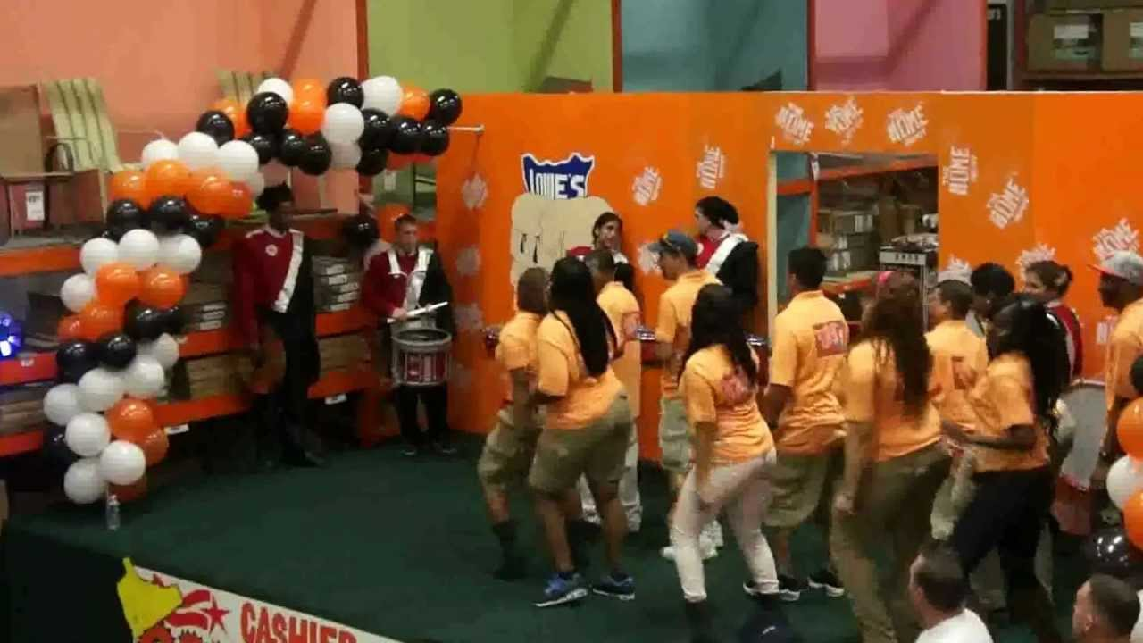 D84 CAM Cashier Olympics 2012 Part 1 - YouTube