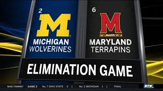 highlights-michigan-eliminates-maryland-2019-b1g-baseball-tournament