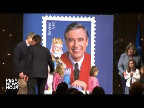 WATCH: Mister Rogers stamp unveiled in Pittsburgh