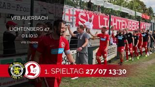 1. Spieltag 201920   01 01 VfB Auerbach   Lichtenberg 47