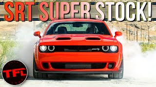 Breaking News: The New 807 Horsepower Dodge Challenger SRT Super Stock Is The Everyman Demon!