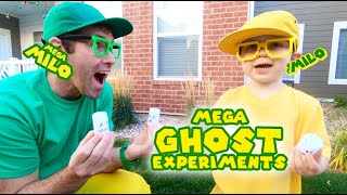 Fun Ghost Experiments | Mega Milo