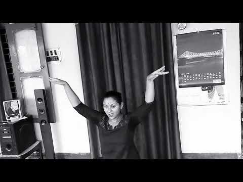 Dance on -- Gahana Kusuma Kunja Majhe by Sayaani Kar ||song sraboni Sen ||Tagore song•