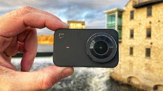 Great Action Camera Xiaomi Mijia 4K Review & Sample Videos