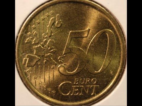 50 EURO Cents Coin Collection