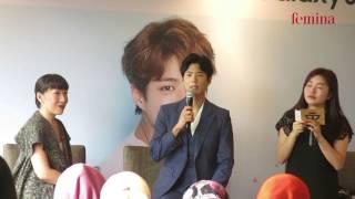 Park Bo Gum -  2017 Asia Tour Fan Meeting in Jakarta - Press Conference 12 Januari 2017