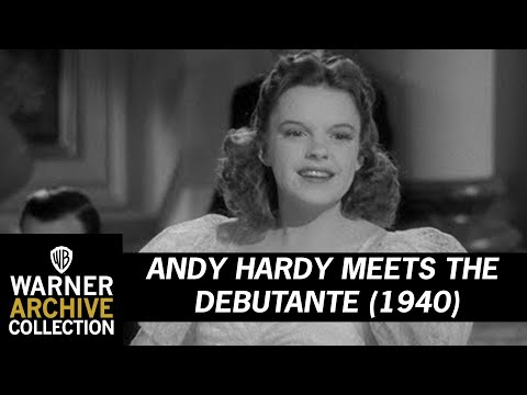 Andy Hardy Meets The Debutante (1940) – Judy Garland - I'm Nobody's Baby