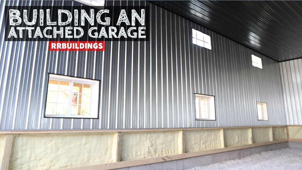 How To Build A Garage Addition 28 Installing Gutter And