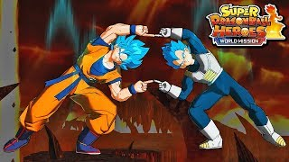 NEW FREE GOGETA & BROLY MOVIE DLC RELEASE WORLD MISSION! Dragon Ball Heroes World Mission DLC
