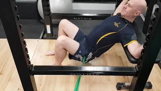 ACL Rehab: Hip Thrusters