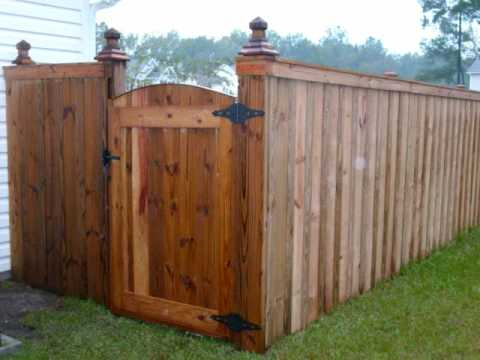 fences dancing by advent fence company of charleston. Black Bedroom Furniture Sets. Home Design Ideas