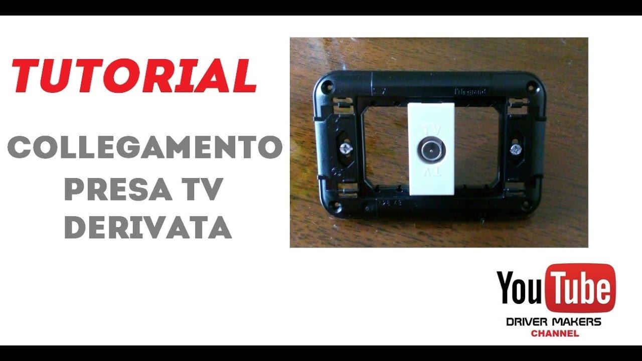 Collegamento Presa Tv Derivata Youtube