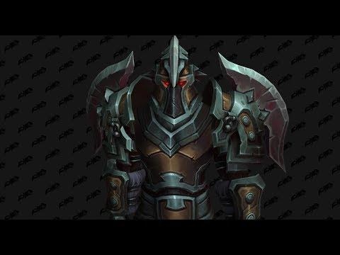 Battlegear Of Iron Wrath Warrior Tier 18 Hellfire Citadel T18