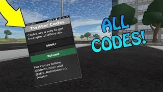 EVERY WORKING CODE in vehicle simulator 2019