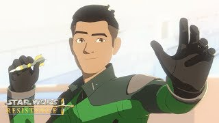 Dart and Cover | Star Wars Resistance | Disney Channel
