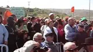 Shaul Mofaz Booed in Gush Etzion 1 of 2
