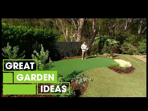 Make Your Own DIY Putting Green   Gardening   Great Home Ideas