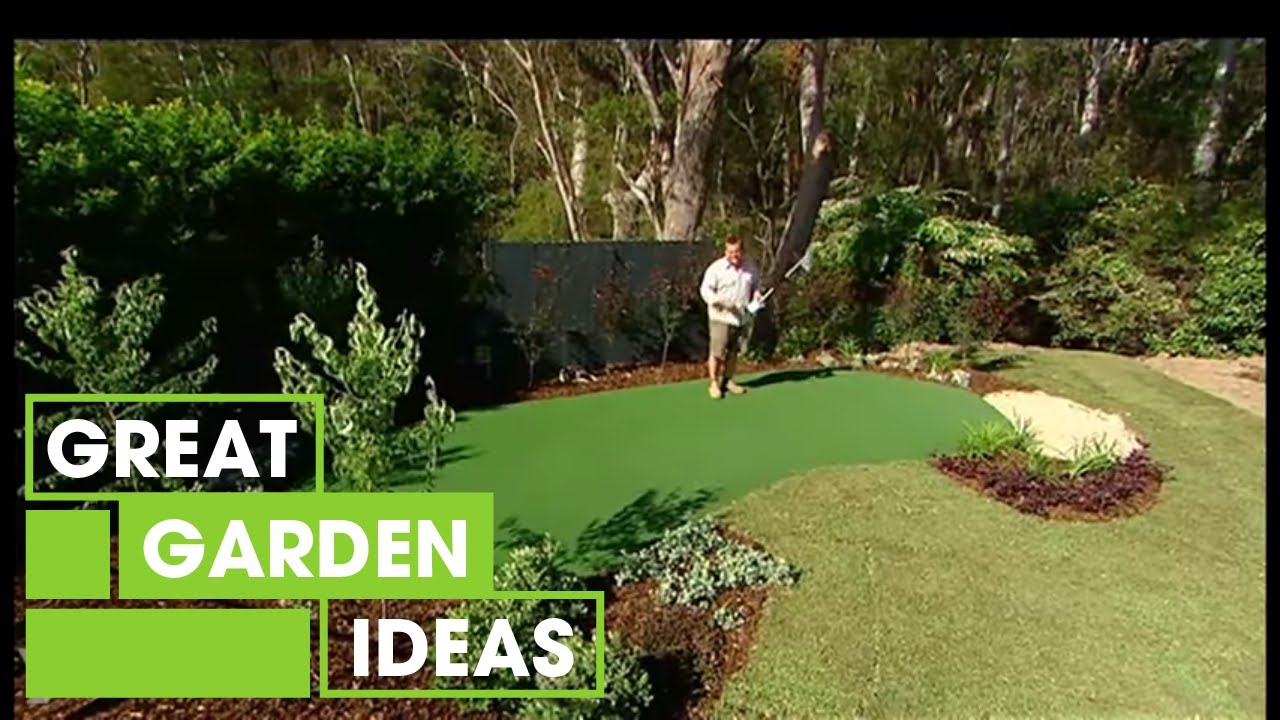 Make your own diy putting green gardening great home for How to build your own house in florida