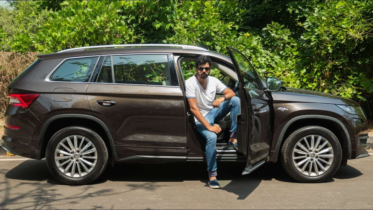 Skoda Kodiaq L&K - Smart Features Onboard | Faisal Khan