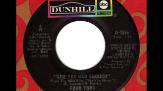 FOUR TOPS  Are you man enough