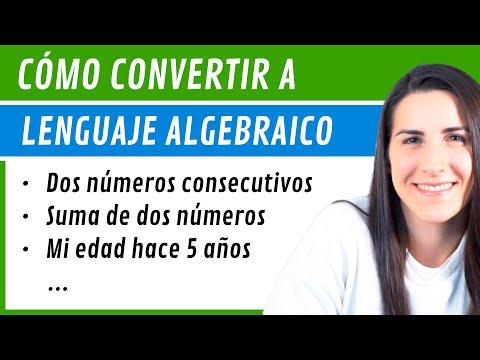 TRADUCIR a Lenguaje ALGEBRAICO 🔁 Claves para plantear PROBLEMAS de ECUACIONES