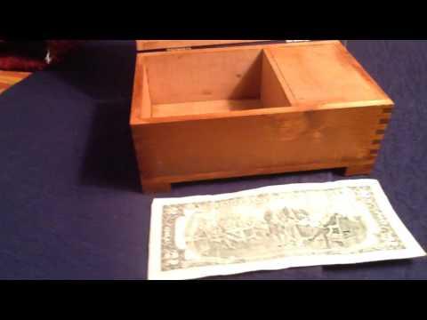 Dovetail Music Box