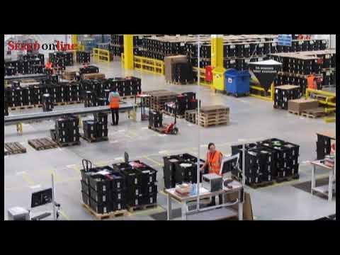 AMAZON v Seredi predstavil svoje logistické centrum verejnosti