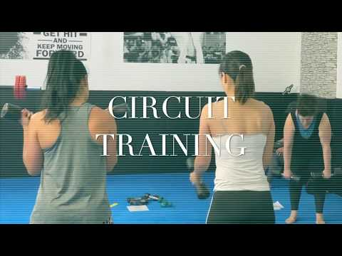 Girls circuit training in UK 紀錄英國體能循環訓練