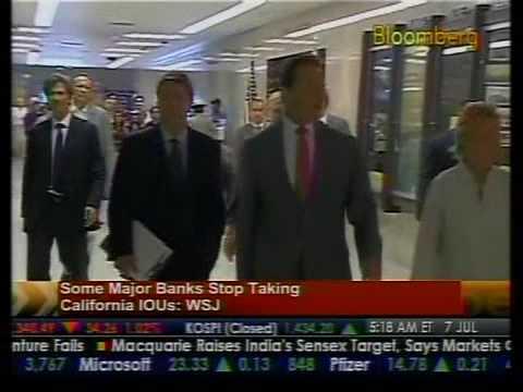 Banks Stop Taking California IOUs - Bloomberg