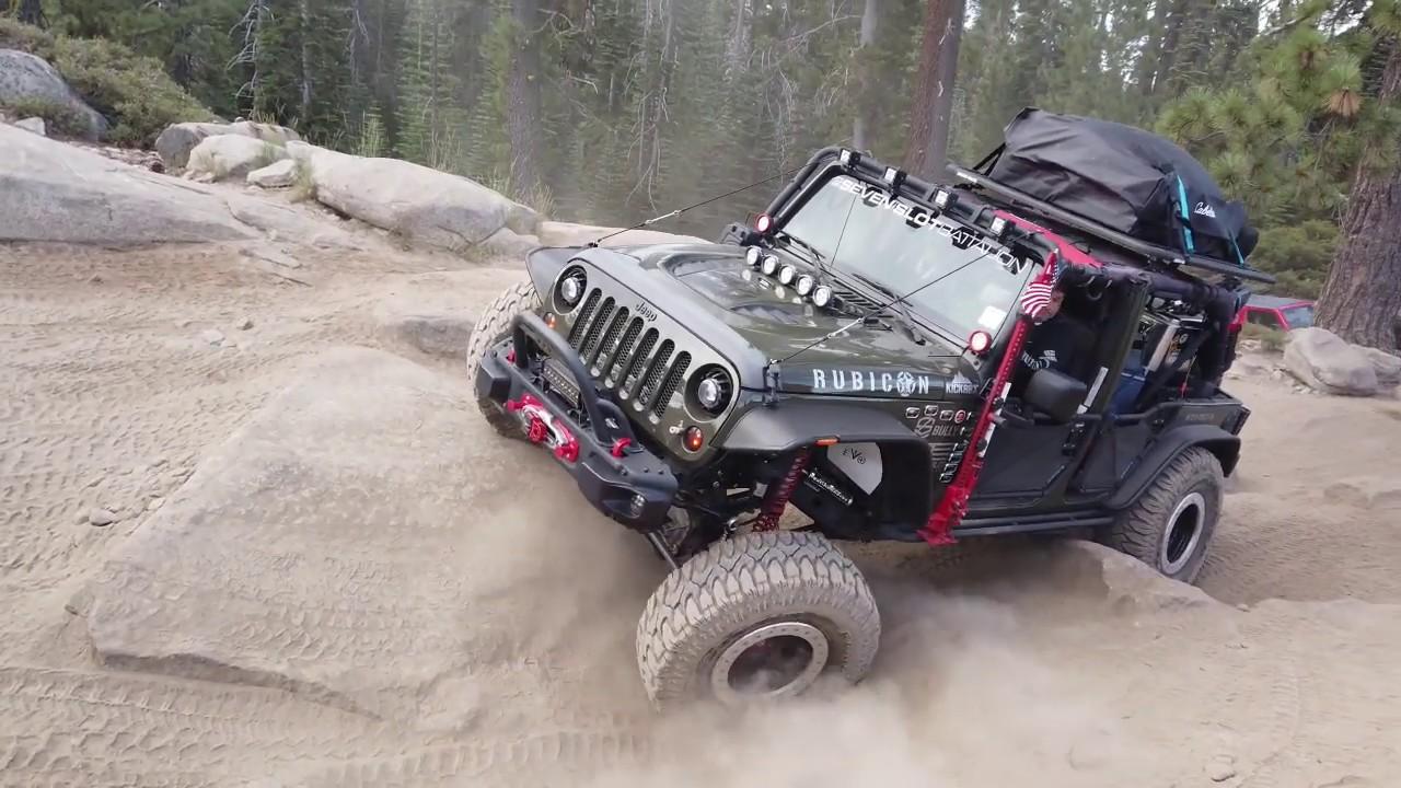 2019 Jeep Jamboreeusa Rubicon Trail Youtube