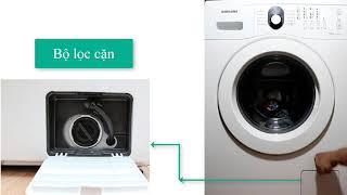 Cách xử lý khi máy giặt Samsung báo lỗi 5E/5C (Máy giặt không xả nước được) - [WM] Nguyễn Thị Loan