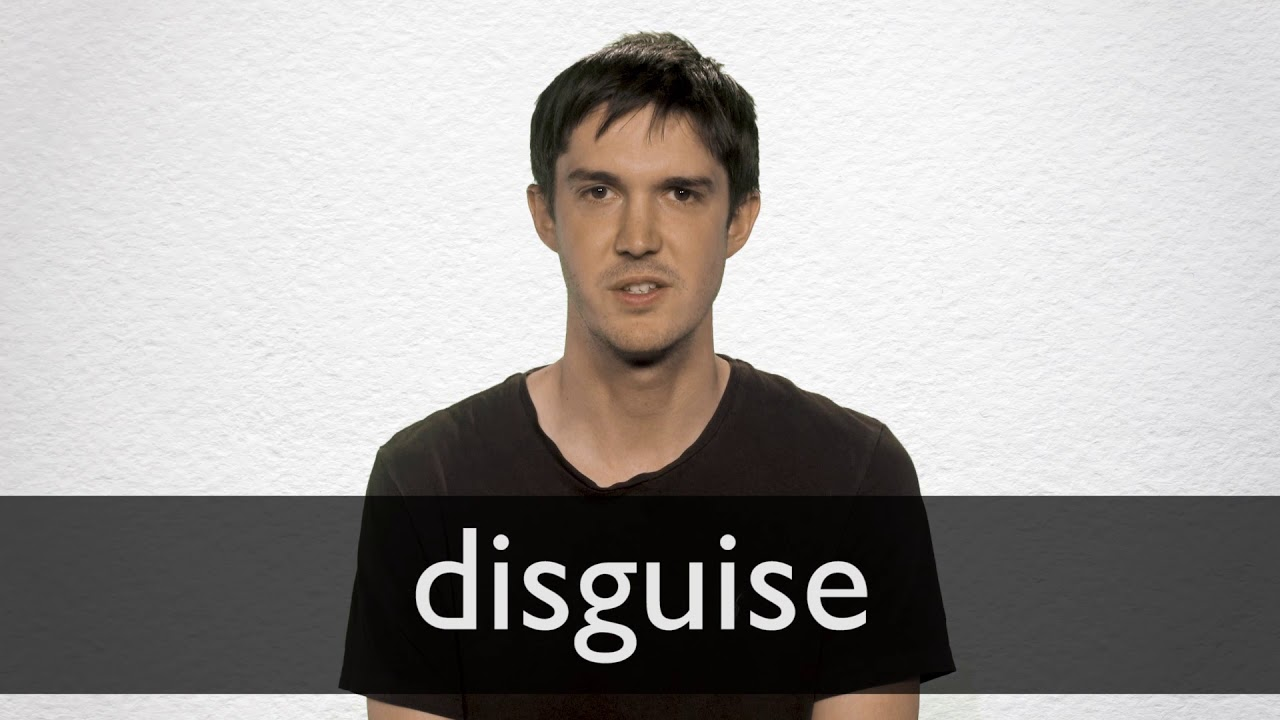 Disguise definition and meaning | Collins English Dictionary