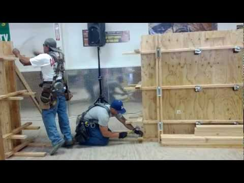 Carpenters Lacing Competition
