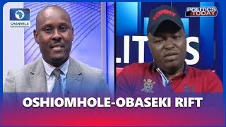 Analyst, Edo Lawmaker Elect Discuss Implications Of Oshiomhole Obaseki Rift