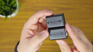 sony np fw50 battery is it genuine   unboxing quick look