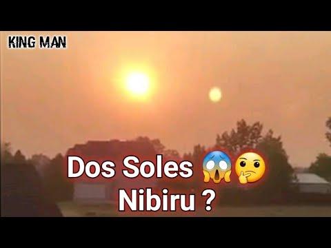 Dos Soles captados en EEUU muchos dicen que el que esta junto al Sol es el planeta Nibiru