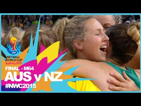 NWC15 I Australia v New Zealand I FINAL